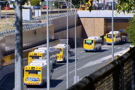 Brisbane (Australia) busway. Photo: That Jesus Bloke.