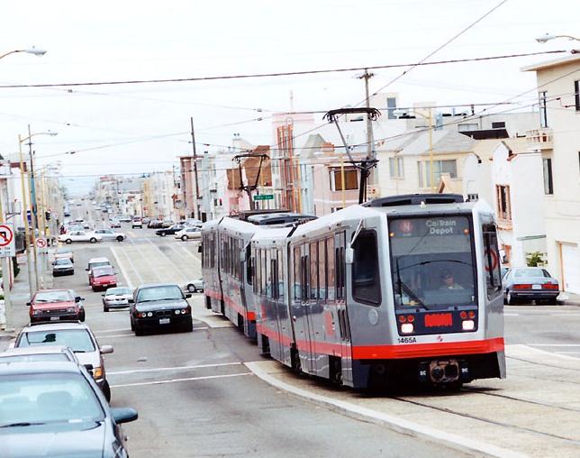 San Franciscos NJudah Muni Metro line shows design option for