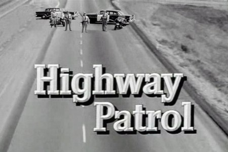 Highway Patrol TV series opening image. Graphic: flickr.