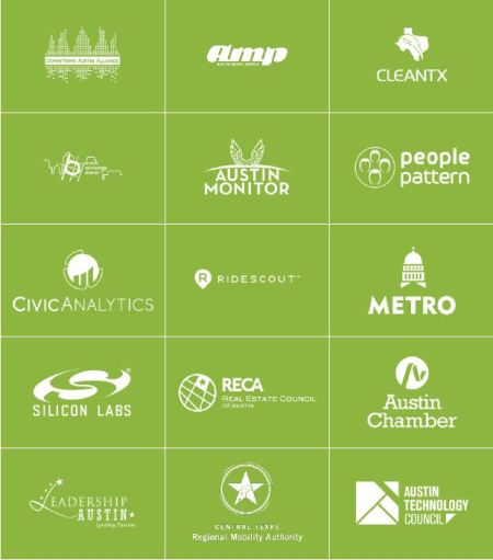 Mobility ATX/Glasshouse Policy partners. Graphic: MobilityATX Findings Report.