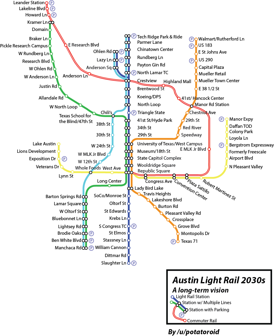 proposed citywide urban rail system map andrew mayer